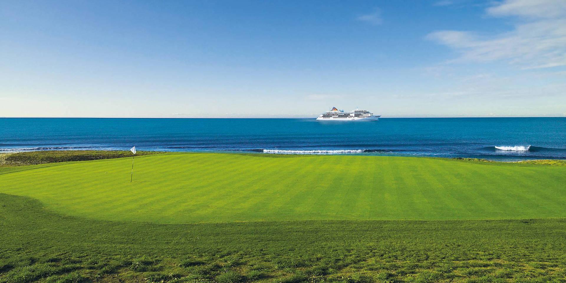 Golfreisen: Golf Kreuzfahrt