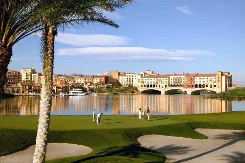 Golfreisen mit INFINITI GOLF: Hilton Lake Las Vegas