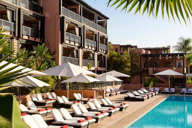 Golfreisen mit INFINITI GOLF, Hotel Naoura Barriere Hotel & Ryads Marrakech Marokko
